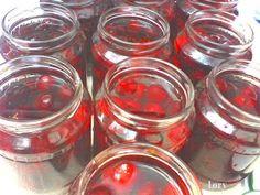 Compot de cirese   Retete Culinare - Bucataresele Vesele Punch Bowls, Syrup, Canning