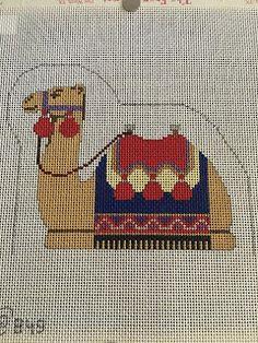 Camel Animal, Christmas Quilt Patterns, Creative Embroidery, Cross Stitch Animals, Needlepoint Kits, Cross Stitch Embroidery, Crafts To Make, Nativity, Needlework