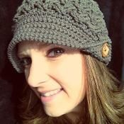 Found pattern on Craftsy $4.95 Diagonal Weave Beanie or Newsboy - via @Craftsy