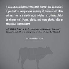 """#Proteinaholic: """"How Our Obsession with Meat Is Killing Us and What We Can Do About It."""" Protein is not the answer. In fact, it's the problem. In Proteinaholic, Dr. Garth Davis sets the record straight, dispelling the myths that have been perpetuated by doctors, weight loss experts, and the media."""