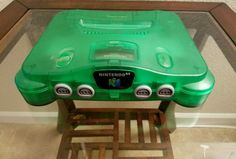 Nintendo 64 Jungle Green Donkey Kong Console System N64 w jumper pak  $58.99End Date: Wednesday Oct-5-2016 19:01:08 PDTBuy It Now for only: $58.99Buy It Now | Add to watch list