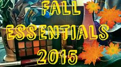 Fall Essentials 2015 ♥ | Beauty, Lifestyle, & TV Shows!