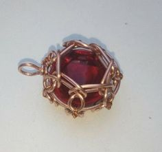 Encased Wire Bezel Pendant Tutorial for Small Cabo...