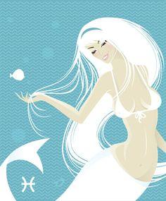 Astrological Horoscope: Pisces, The Fishes (Arist-Anastasiya Sonne Popova )