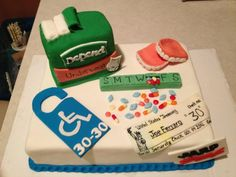 retirement party ideas | Humorous Retirement Cake | Party Ideas