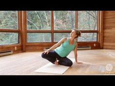 Prenatal Yoga Routine: Calm Interior (2nd Trimester) - YouTube