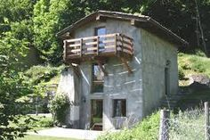 Image result for rustico tessin kaufen Mountain, Cabin, House Styles, Home Decor, Villas, Real Estates, Switzerland, Architecture, House