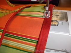How to Sew piping/Sewing With Nancy/Sewing A-Z book and DVD   Nancy Zieman Blog