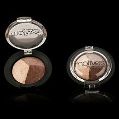 Mineral Baked Eye Shadow Trio - Affluent | Motives Cosmetics