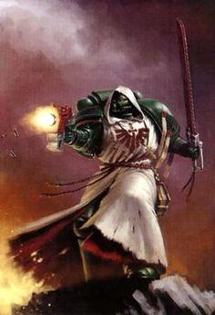 Warhammer Dark Angels, Dark Angels 40k, Warhammer 40k Figures, Warhammer Art, Warhammer Fantasy, Warhammer 40000, Gabriel, Angel Artwork, Angel Drawing