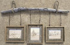 bobwire crafts | Barb wire crafts / Barnwood and Barbwire Hanging frame built by Nicole ...