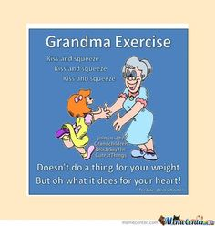 Grandma Exercise