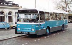 Schutte, Zwolle bus 44 van lijn 4 naar Holtenbroek op 21 november 1980