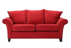 Charming Red Sofas for Gorgeous Living Room: Gorgeous Modern Style Red Sofas Artistic Design Ideas