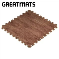 Understand that the price per tile for all of these options will vary quite a bit, as the dimensions of each model of wood grain tile will be different. Some tiles may only measure 1-by-1 feet, while others measure 2-by-2 feet or larger. The best way to compare the price of each model will be to look at the cost per square foot. Foam Flooring, Basement Flooring, Wood Grain Tile, Tiles, 1 Feet, Larger, Model, Diy, Room Tiles