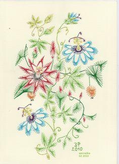 Pinbroidery - Projekt własny by Wernakta