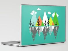 The Crystal Lake Laptop Skin