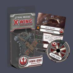 Star Wars X-Wing HWK-290 from Fantasy Flight!