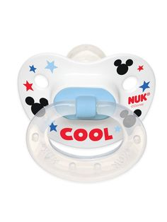 Amazon.com : NUK Disney Baby Mickey Mouse Puller Pacifier in Assorted Colors and Styles, 0-6 Months : Baby