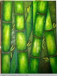 pinturas en acrilico abstractas en verde - Buscar con Google