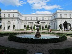Rosecliff Mansion - where the Robert Redford The Great Gatsby was filmed Newport RI