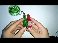 How to bead funny acceceroy: bottle - YouTube