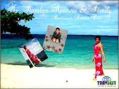 "Rosalyn Anuncio, #Cebu2012 #FamilyGetaways #Travbestraveler ""Thanks, TravBest! :)"""
