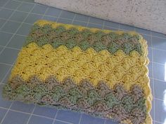 Handmade Crocheted Lap Blanket by fiordalis on Etsy, $35.00