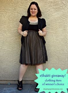 Shaping Up To Be A Mom: One For The Shorties {eShakti Giveaway!}