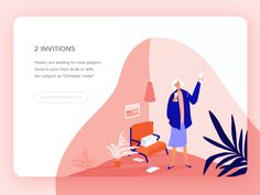"Hey, guys! Send in your best work to vera.voishvilo@gmail.com with the subject as ""Dribbble invite"".  Thanks for watching!"