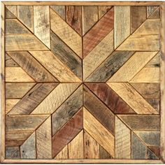 reclaimed wood wall art - Google Search