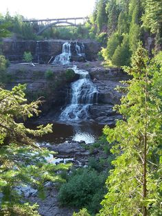 Gooseberry falls in Minnesota. We went there back in summer 2010. Love it :)