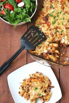 Vegan Macaroni Bechamel One Arab Vegan
