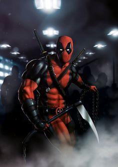 #Deadpool #Fan #Art. (Deadpool) By: DnaTemjin. ÅWESOMENESS!!!™ ÅÅÅ