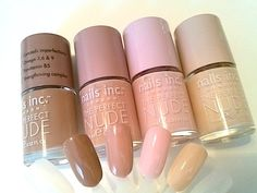Nail Polish Trends, Review, Swatches 2014: Nude & Glitter Top Coats #bstat