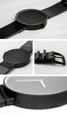XPLUS RAW and MATTE Watches by Brad Wade  i would change the straps though