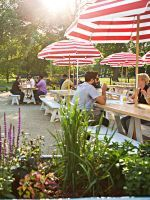 13 Rad Chicago Patios For Summer Sippin' #refinery29  http://www.refinery29.com/best-chicago-patios#slide-4  County Barbeque  For summertime fun, the only thing better than heading to University Village mainstay County Barbeque for a plate of pulled pork, fried okra, and a bourbon-infused custom cocktail or two is enjoying the grub and libations on the rustic patio. Like the food itself, the outdoor seating is charming and straightforward, so get ready to plop down on one of the no-f...