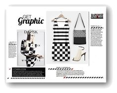 """""""Get Graphic"""" by elena-indolfi ❤ liked on Polyvore featuring L.A.M.B."""
