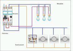 schema de Raccordement de la minuterie 3 fils