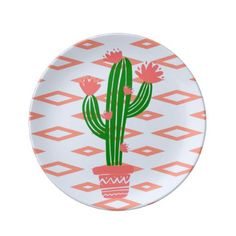 Set your table with dinner plates from Zazzle! Serve your favorite meal on custom plates made uniquely for you! Personalized Gifts For Men, Customized Gifts, Custom Gifts, Westerns, Dining Centerpiece, Southwest Home Decor, Cactus, Special Text, Home Decor Items