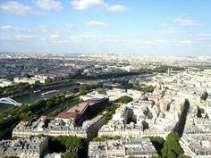 View from Eiffel Tower #eiffel