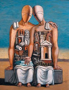 Giorgio de Chirico (Volos, Greece, July 1888 - Rome, 20 November Italian painter born in Greece to Italian parents. De Chirico is known among. Italian Painters, Italian Artist, Yves Tanguy, Art Picasso, Art Visionnaire, Rene Magritte, Visionary Art, Art Plastique, Surreal Art