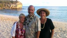A happy vow renewal at shipwreck beach August 22nd