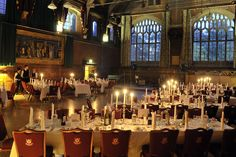 The Great Hall - Homerton Conference Centre Cambridge
