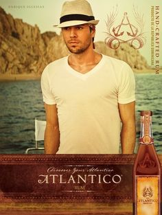 Enrique Iglesias and Atlantico Rum #worldsbestrum