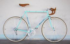Bianchi Rekord 748 road bike vintage corno marrone custom bicycles single speed fixie classic steel gipiemme campagnolo leather universal mod 77 19978 70s vintage bike More Road Bike Information at www.bestbikeguide.com