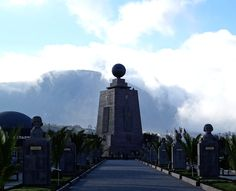 Mitad del Mundo, Ecuador. #Ecuador #MitaddelMundo #SouthAmerica #Quito