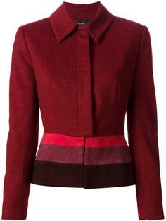 Jean Louis Scherrer Vintage colour block jacket