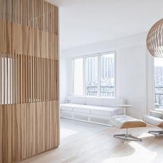 lambris mural design et panneaux d co en lamelles de bois. Black Bedroom Furniture Sets. Home Design Ideas
