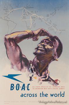 BOAC across the world.